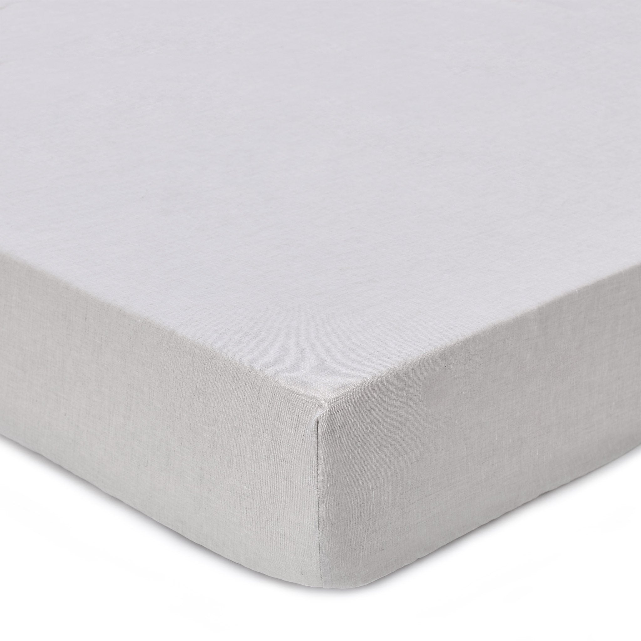 Toulon Fitted Sheet natural, 100% linen