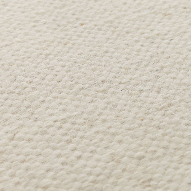 Udana runner, natural white, 100% wool |High quality homewares