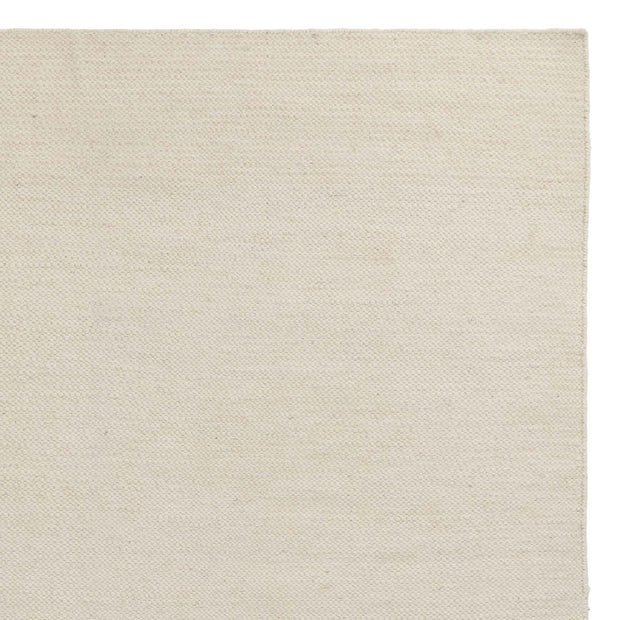 Udana runner, natural white, 100% wool
