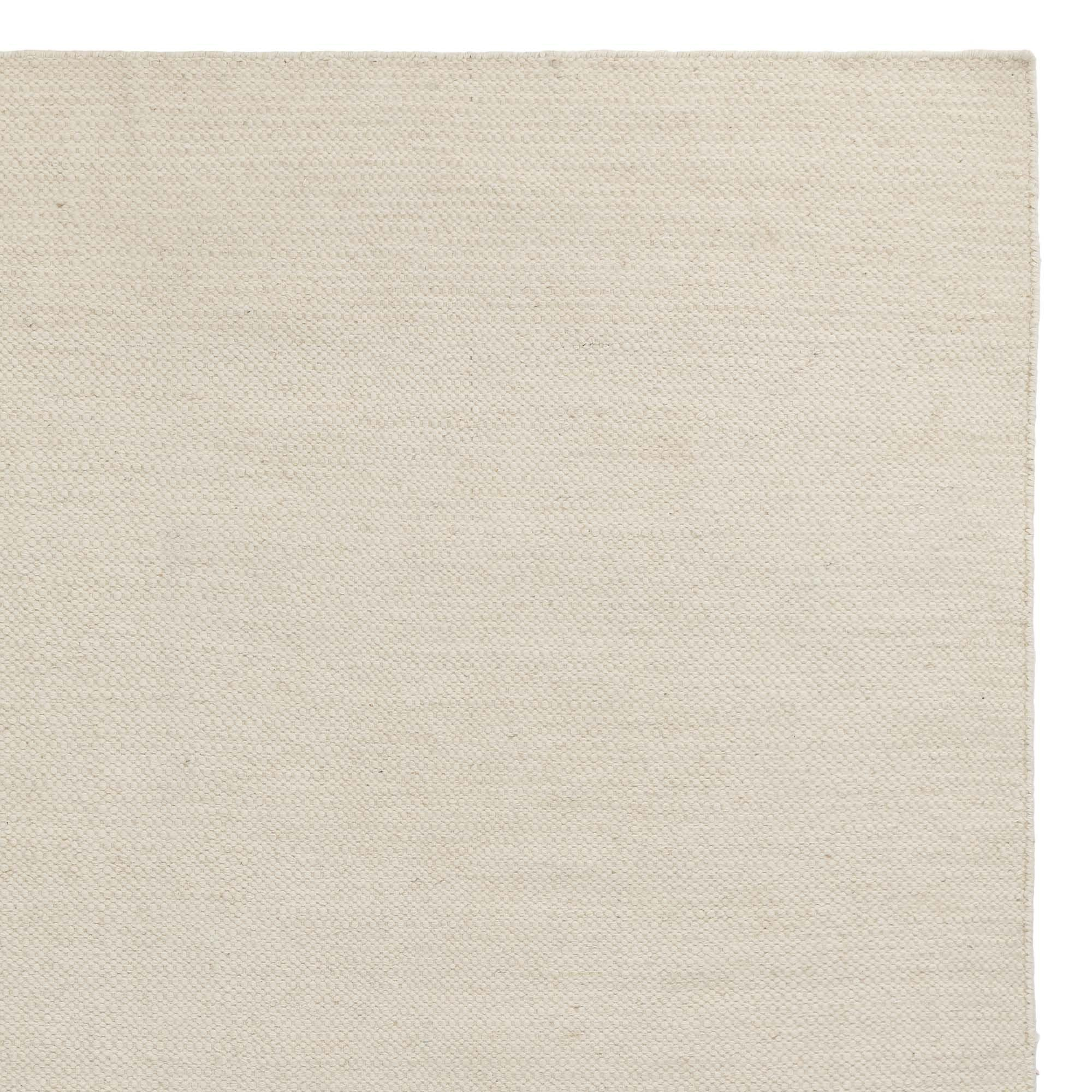 Udana rug, natural white, 100% wool