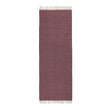 Upani runner, bordeaux red & natural, 100% cotton | URBANARA runners