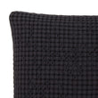 Veiros Sao cushion cover, charcoal, 100% cotton | URBANARA cushion covers