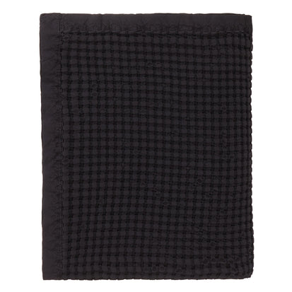 Veiros Sao bedspread, charcoal, 100% cotton