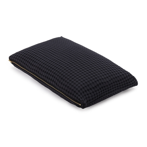 Veiros Sao Cushion [Charcoal]