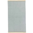 Ventosa beach towel, light grey green & white, 100% organic cotton
