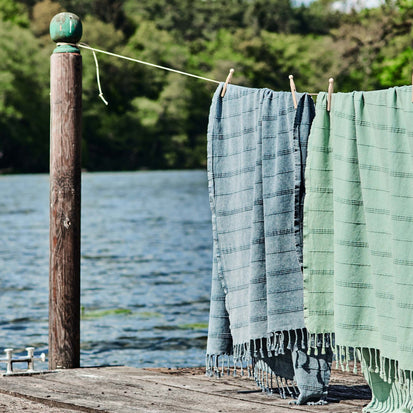 Nanzili Hammam Towel in grey | Home & Living inspiration | URBANARA