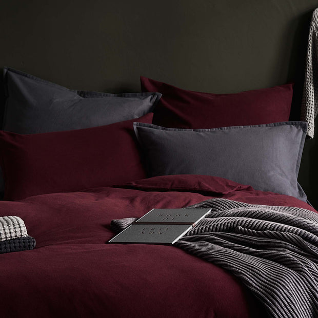 Moreira Flannel Bed Linen [Grey]