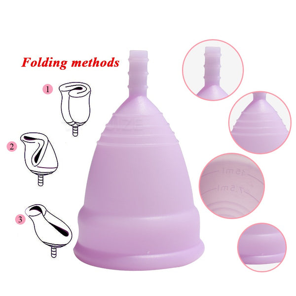 Hot Sale Menstrual cup for Women Feminine hygienev - Bambooherb