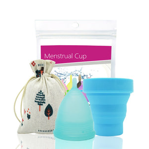Women's Feminine Hygiene Menstrual Cup Silicone - Bambooherb