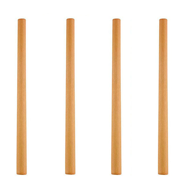 4 Pieces /Set Biodegradable Bamboo Drinking Straws Reusable Eco Friendly Without Brush - Bambooherb