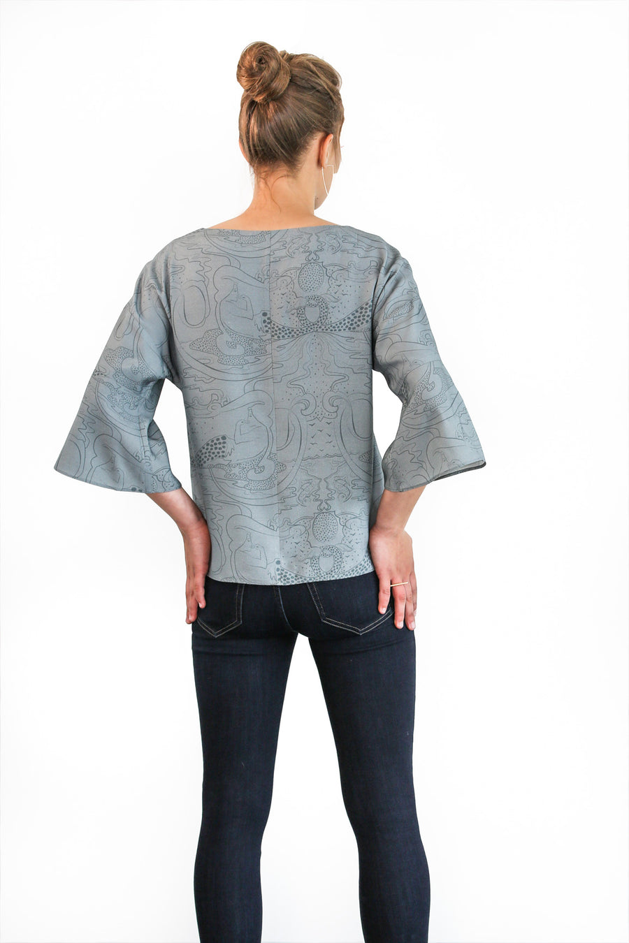 HUNTER BLOUSE (MERMAID)