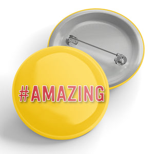 #Amazing Button