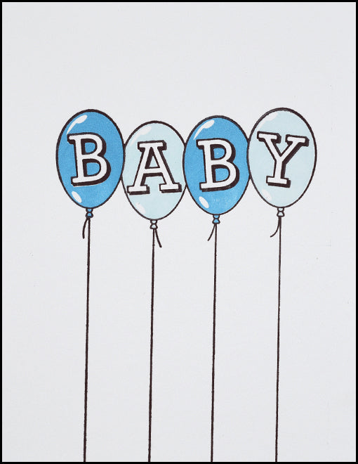 Baby Balloons (blue)