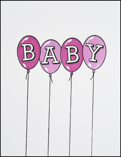 Baby Balloons (pink)