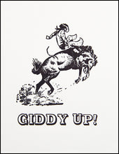 Load image into Gallery viewer, Giddy Up! Greeting Card