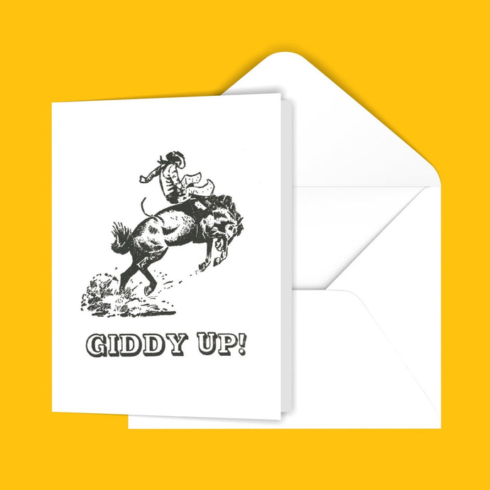 Giddy Up! Greeting Card