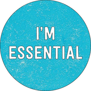 I'm Essential Button (blue)