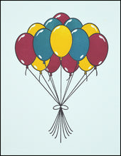 Load image into Gallery viewer, A Bunch of Balloons Greeting Card