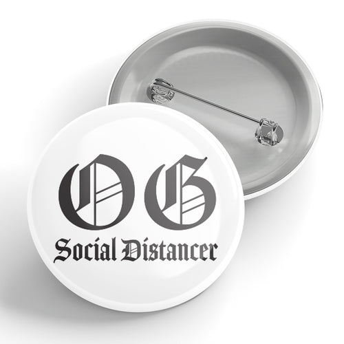 OG Social Distancer Button