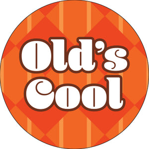 Old's Cool Orange Button
