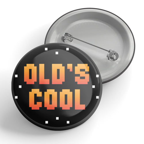 Old's Cool 80's Arcade Button