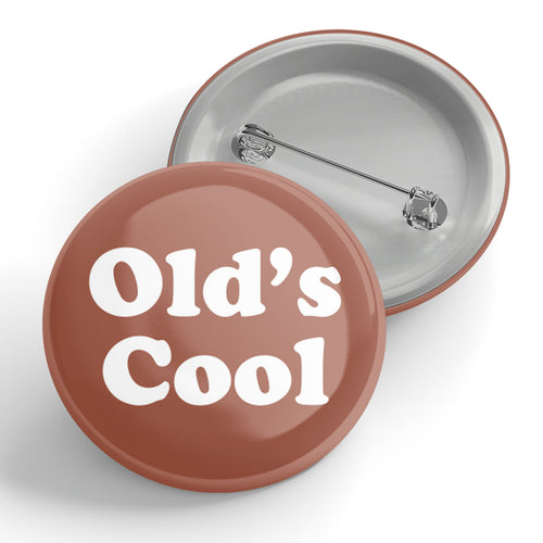 Old's Cool Brown Button
