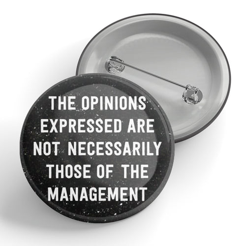 The Opinions Expressed Button