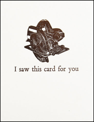 I saw this card for you
