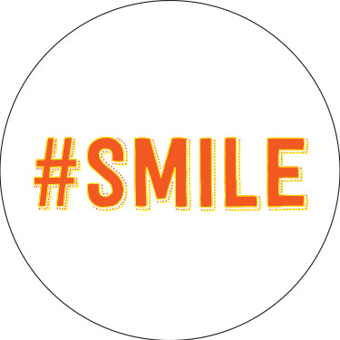 #Smile Button
