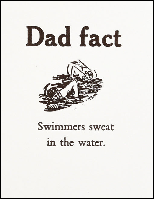 Dad fact (swimmer)