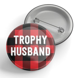 Trophy Husband Button