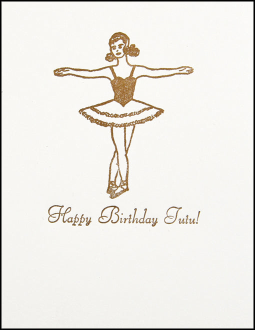Happy Birthday Tutu!