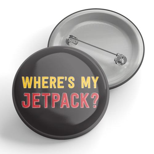 Where's My Jetpack? Button