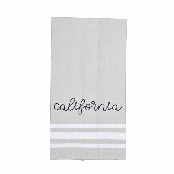 Ever Ellis - Cotton Pink California Tea Towel - SoCal Threads Boutique