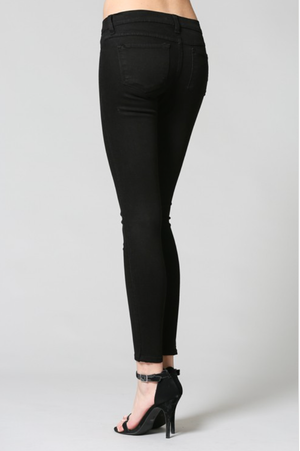 Flying Monkey Black Skinny Denim - SoCal Threads Boutique