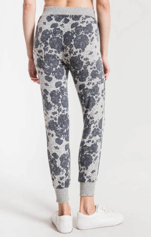Z Supply Marled Floral Joggers - SoCal Threads Boutique