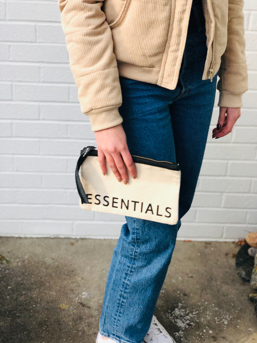 Essentials Canvas Pouch - SoCal Threads Boutique