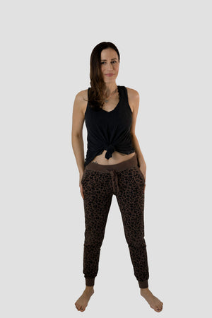 Leopard Jogger - SoCal Threads Boutique