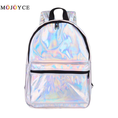Laser Holographic Large Capacity Backpack