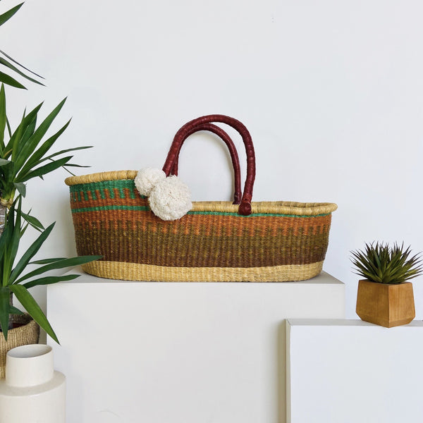 Perfectly Imperfect<br>No. 75<br>African Moses Basket