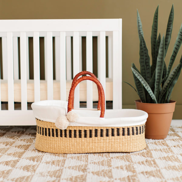 Ashwood<br>P+S Signature Collection<br>African Moses Basket