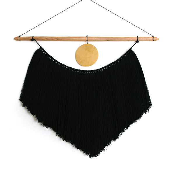 Macrame Wall Hanging<br>Golden Moon