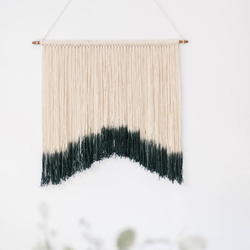 Macrame Wall Hanging<br>Charcoal