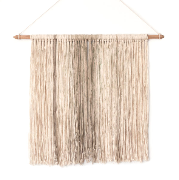 Macrame Wall Hanging<br>Taupe