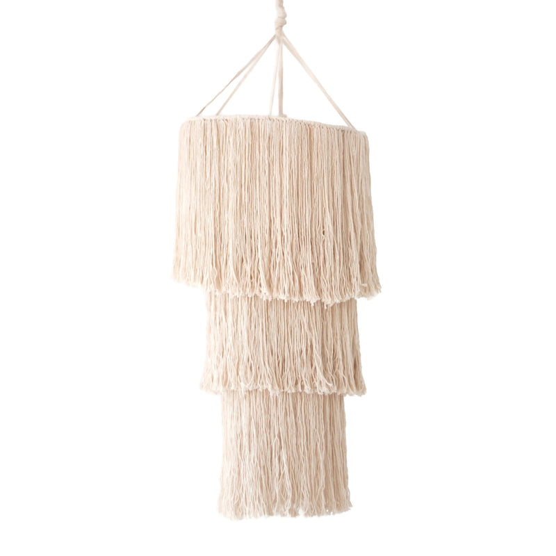 Chandelier Wall Hanging<br>Cream