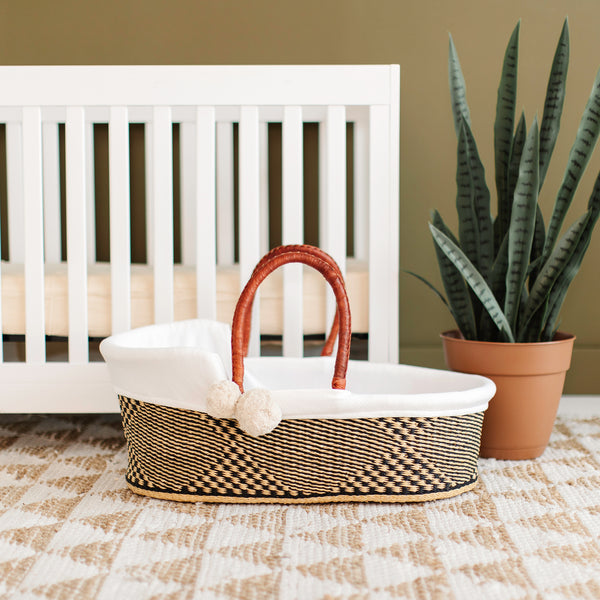 Lark Song<br>P+S Signature Collection<br>African Moses Basket