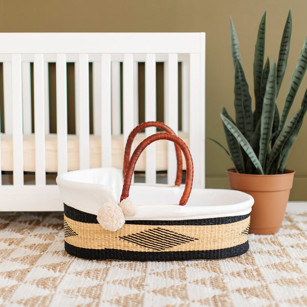 Meadow<br>P+S Signature Collection<br>African Moses Basket
