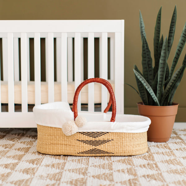 Oak<br>P+S Signature Collection<br>African Moses Basket