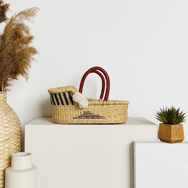 Artisan Sky<br>P+S Signature Collection<br>Mini Moses Basket
