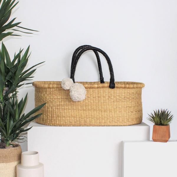 ** pre-order **<br> ships on or before feb 15<br>Wheatgrass<br>No Hood<br>African Moses Basket<br>Black Handle